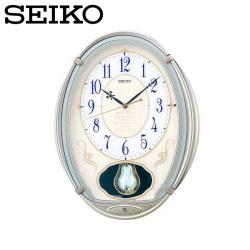 セイコー SEIKO 電波掛け時計 AM222H ウエーブシンフォニー Wave Symphony☆セイコーのオシャレな電波掛け時計!の画像