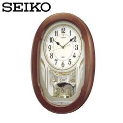セイコー SEIKO 電波掛け時計 AM234H ウエーブシンフォニー Wave Symphony【送料無料】☆セイコーのオシャレな電波掛け時計!の画像