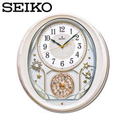 セイコー SEIKO 電波掛け時計 AM251P ウエーブシンフォニー Wave Symphony【送料無料】☆セイコーのオシャレな電波掛け時計!の画像