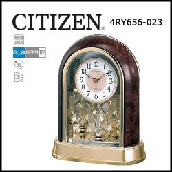 シチズン 電波置時計 パルドリーム R656☆安心・便利な電池交換お知らせ機能つき時刻合わせ不要の電波時計の画像