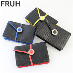 FRUH フリュー ステアリングレザーカードケース GL204 メンズ 牛革☆ステアリングレザーを採用したマルチカードケース。の画像