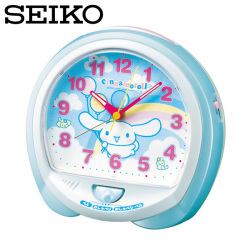 セイコー SEIKO CQ115L シナモロール 目覚し時計 セイコークロック☆サンリオ、シナモロールの目覚まし時計!の画像