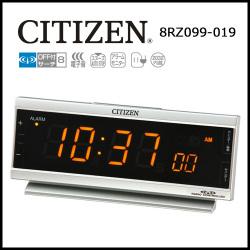 シチズン AC電源式 電波時計 パルデジットピュアの画像