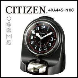 シチズン 目覚し時計 バトルワンZ グレーメタリック色(黒)の画像