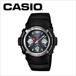 【送料無料】カシオ CASIO g-shock 電波ソーラー腕時計 AWG-M100-1AJF【国内正規品】の画像