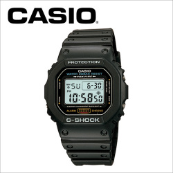 【送料無料】カシオ CASIO g-shock 腕時計 DW-5600E-1【国内正規品】の画像