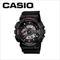 【送料無料】カシオ CASIO g-shock 腕時計 GA-110-1AJF【国内正規品】の画像