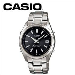 【送料無料】カシオ CASIO ソーラー電波腕時計 LIW-130TDJ-1AJF LINEAGE リニエージ【国内正規品】の画像