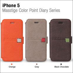 iPhone5/5S専用 スマホケース マステージ カラー ポイント ダイアリー Z1393i5の画像