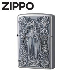 ZIPPO  ディープエッチング加工 アラベスクマリア(スリムサイズ有)の画像