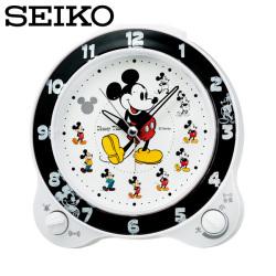 セイコー SEIKO 置き時計 FD461W ミッキー ディズニータイム 目覚し時計 時計 SEIKO CLOCKの画像