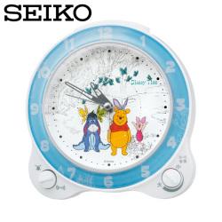 セイコー SEIKO 置き時計 FD462W くまのプーさん ディズニータイム 目覚し時計 時計 SEIKO CLOCKの画像