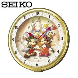 セイコー SEIKO 掛け時計 FW521G ディズニータイム 時計 ミッキー ミニー ドナルド プルート SEIKO CLOCKの画像