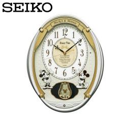 セイコー SEIKO 電波掛け時計 FW567W ディズニータイム からくり時計 電波時計 ミッキー ミニー SEIKO CLOCKの画像