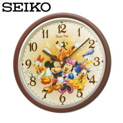セイコー SEIKO 掛け時計 FW569B ディズニータイム 時計 ミッキー&フレンズ  SEIKO CLOCKの画像