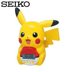 セイコー SEIKO 目覚まし時計 ピカチュウ ポケモン JF373A 置き時計 おしゃべり SEIKO CLOCK ポケットモンスターの画像