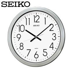 セイコー SEIKO 掛け時計 KH407S  SEIKO CLOCK 防湿・防塵型掛け時計 オフィスタイプ【送料無料】の画像