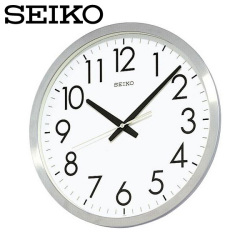 セイコー SEIKO 掛け時計 KH409S 時計 SEIKO CLOCK オフィス 金属枠の画像
