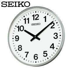 セイコー SEIKO 掛け時計 KH411S 時計 屋外 防雨型 金属枠 オフィス SEIKO CLOCK【送料無料】の画像