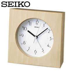 セイコー SEIKO 目覚まし時計 KR864B 置き時計 デザインシリーズ シンプル 時計 アナログ セイコークロックの画像