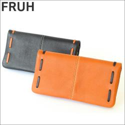 FRUH グローブレザー 袋縫いウォレット GL402 ロングタイプ 長財布 牛革財布 フリュー【送料無料】の画像