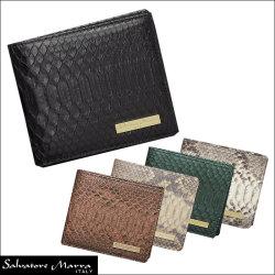 サルバトーレマーラ SM2001P パイソン 二つ折り財布の画像