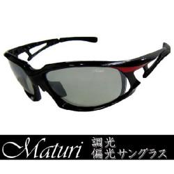 Maturi マトゥーリ 最上級モデル 調光偏光サングラス スポーツ TK-003-02の画像
