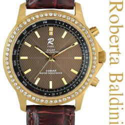 ロベルタバルディーニ 宝飾ソーラー電波腕時計 ゴールド RB001-G【送料無料】の画像