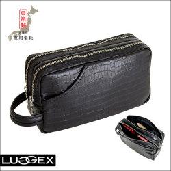 LUGGEX ラジェックス ナイルポーチ 2層式【15-0007】セカンドバッグ【送料無料】の画像