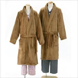 毛布のようなとろけるあったかガウン 男女兼用【カタログ掲載1410】の画像
