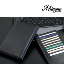Milagro(ミラグロ)ソフトレザーカード60枚収納ホルダー【カタログ掲載1410】【送料無料】の画像