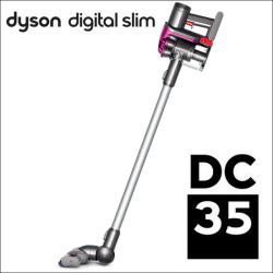 ダイソンDC35 スティック型サイクロン式コードレスクリーナーセット<通販限定カラー>フトンツール付【※後払い不可】【ポイント5倍】の画像