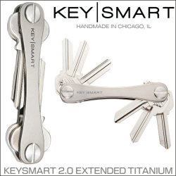 KEY SMART KEYSMART 2.0 EXTENDED TITANIUM キースマート チタン ロングの画像