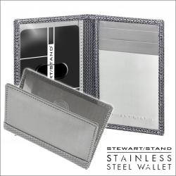 スチュワートスタンドステンレススチール製カードケース DWの画像