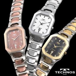 テクノス 腕時計 スクエアタングステン 【カタログ掲載1510】【送料無料】の画像