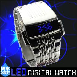防水 LED デジタル ウォッチの画像