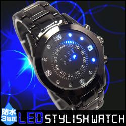防水 LED スタイリッシュ ウォッチの画像