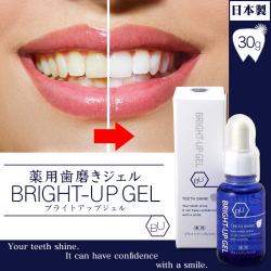 薬用 歯磨き ジェル ブライトアップジェルの画像