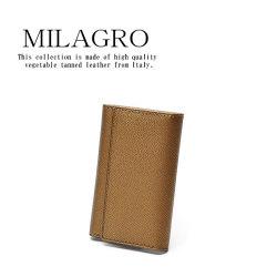 Milagro 男のゴールド キーケース HK-G-503の画像