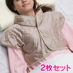 吸湿発熱繊維 おやすみベスト【2枚セット】の画像