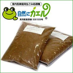 【消耗品】生ごみ処理機自然にカエル交換用チップ材(2袋)☆ecoの画像