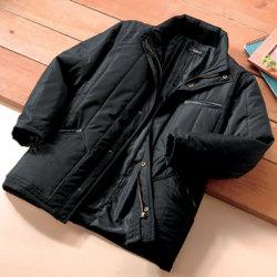 ピエルッチ10ポケット中綿コート<ブラック>の画像