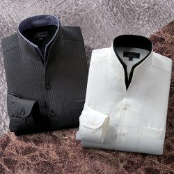 <フランコ・コレツィオーニ>二重変化衿ドレスシャツ(同サイズ2色組)の画像