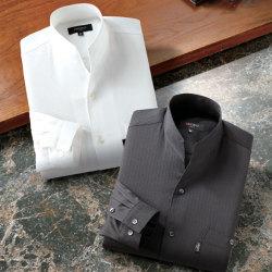 <ピエルッチ>変化衿ダンディーシャツ(同サイズ2色組)の画像