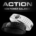 パワーバランス シリコンブレスレット NEW!ACTIONバンド