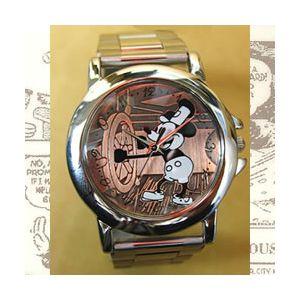 世界限定 オールドミッキー高級牛革チェンジベルト付き腕時計