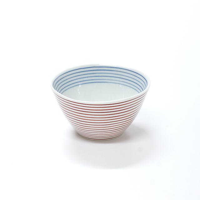 波佐見焼 康創窯 カジュアルライン ボーダー 線段 ライン ボウル 鉢