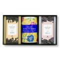 [おすすめギフト]金箔入りインスタントコーヒー缶&金澤ロワイヤルブランデーケーキ2個ギフトセット