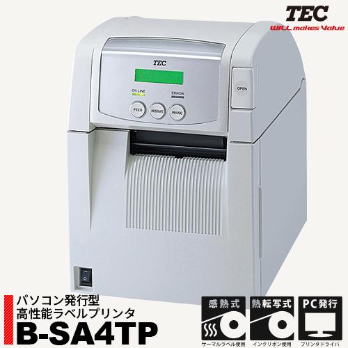 [ネットショップ最安値!] パソコン発行型 高性能ラベルプリンタ B-SA4TP