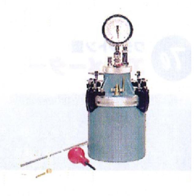 ワシントン型 エアメータ(ブルドン管型)